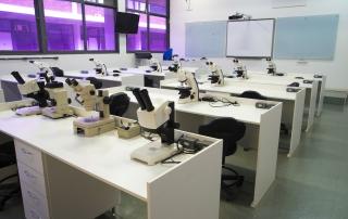 Sala 100 - aulas práticas